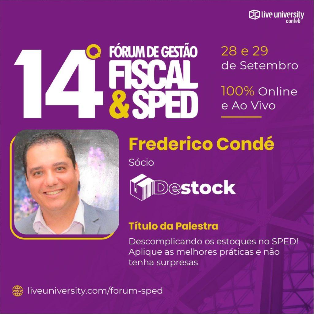 Destock no Fórum de Gestão Fiscal e SPED